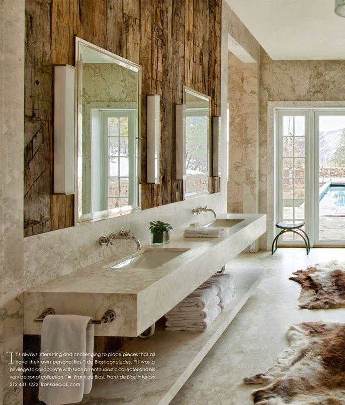 Rustic Modern Master Bathroom 35 best rustic/contemporary interior design images on pinterest