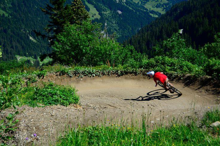 Chatel bike park July 2014. Photographer Phia van der Meulen