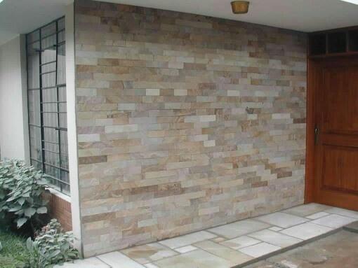 Fachaleta decoracion fachaleta decoraci n de unas for Decoracion de casas con piedras