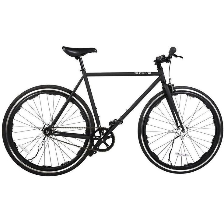 Pure Fix Original Glow - Revo Juliet Black LED Fixed Gear Bike