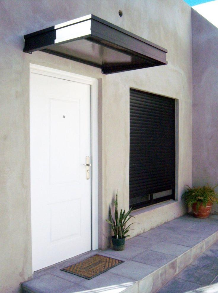 21 best aleros ventanas puerta images on pinterest for Marquesinas para puertas