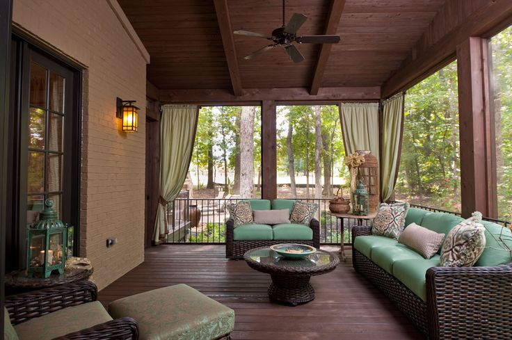 17 Best ideas about Screened Porch Furniture on Pinterest