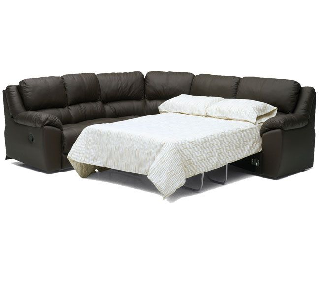 sofa sleeper recliner leather