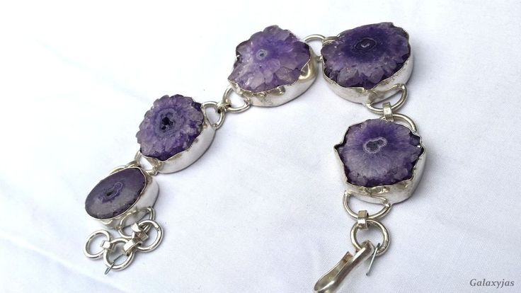 indian beautiful handmade bracelets,Amethyst stone,silver,weight-60gm #Handmade #Chain
