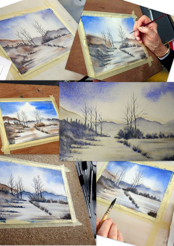Aquarelle Stages Dalbe Photos1 Aquarelle Petite Vitrine