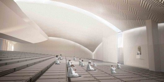 Central Mosque of Pristina Competition Entry / Victoria Stotskaia, Raof Abdelnabi, Kamel Loqman | ArchDaily