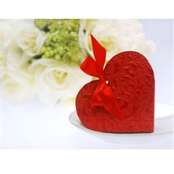 Gaveæsker | Bordkort | Bordpynt Bryllup | Bordkort Bryllup | Konfirmation | Røde hjerte