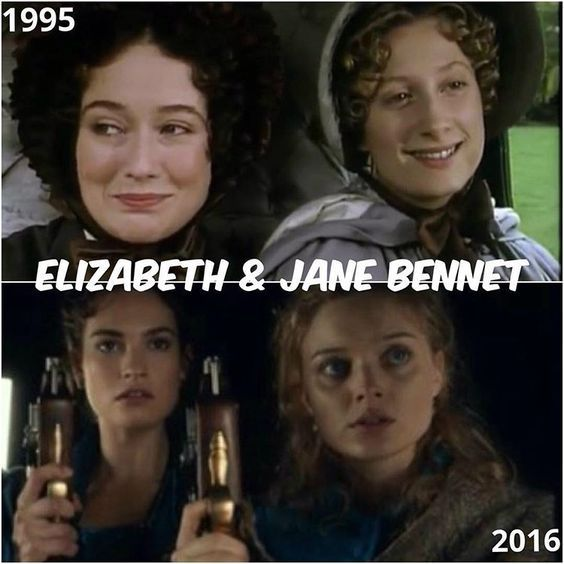 The Bennet sisters #elizabethbennet #janebennet # prideandprejudice #prideandprejudiceandzombies