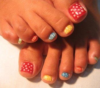 Decoracion uñas pies 4