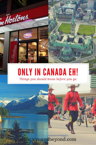 If you have never been to Canada here are some interesting bits of trivia about Canadians and Canada. We love our Timmies, we invented basketball and yes hockey is our sport.