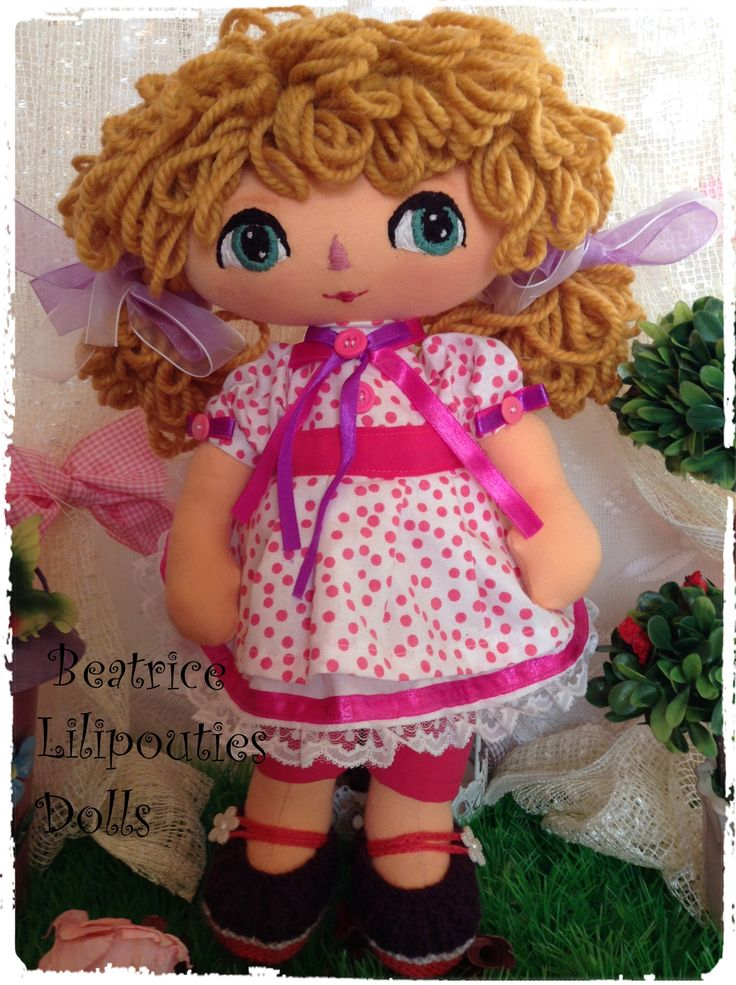 handmade ooak doll by lilipouties