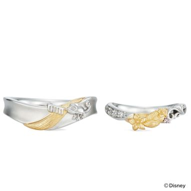 Tangled inspired wedding bands by K uno  Wow 636 best Tangled images on Pinterest   Disney costumes  Disney  . Tangled Wedding Ring. Home Design Ideas