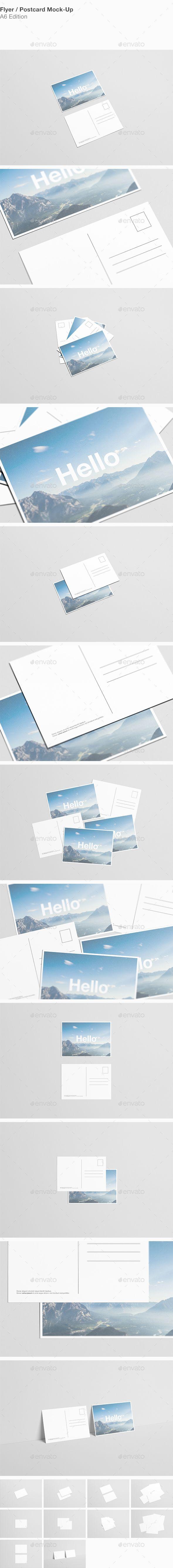 A6 Flyer / Postcard Mock-Up #design Download: http://graphicriver.net/item/a6-flyer-postcard-mockup/13604181?ref=ksioks