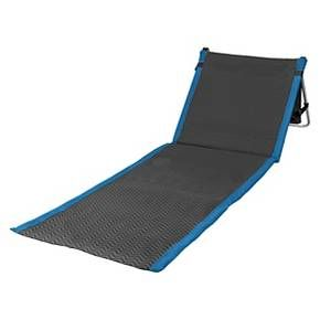 The Beachcomber is for those who enjoy the outdoors and like to be out in it. It's a lightweight, portable beach mat that you can take anywhere. Fully-padded with adjustable reclining backrest, the Beachcomber allows you to stretch out your legs over a durable polyester mat sparing you from messy sand or bug-infested grass. It also features an adjustable shoulder strap and a zippered pocket, large enough to hold magazines and personal effects such as a wallet or shirt. Its steel frame...