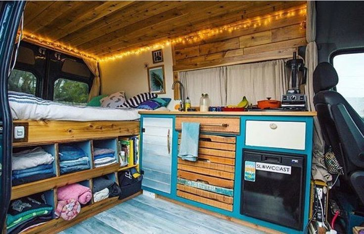 I love this simple layout but those cubbies are impractical for a moving vehicle