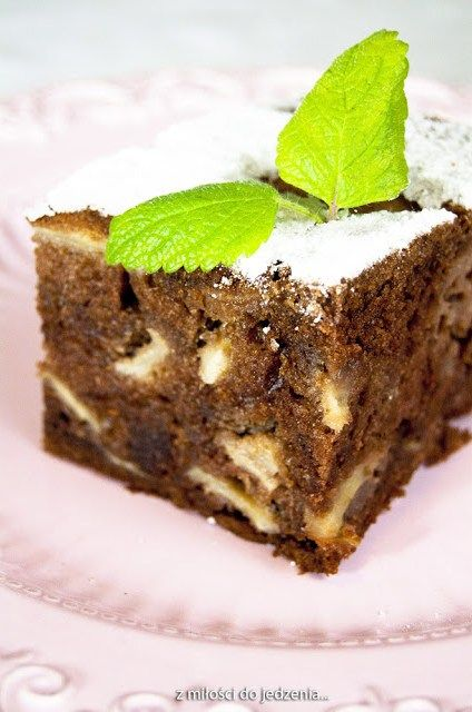 Salceson - ciasto z jabłkami
