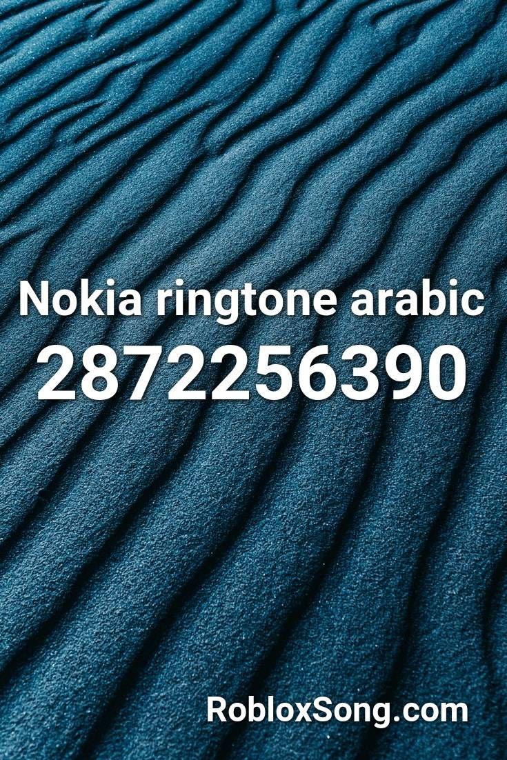 Arabic Nokia Roblox Id