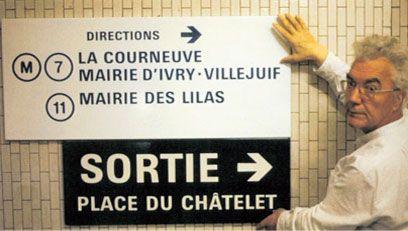 Frutiger and Paris Metro signs