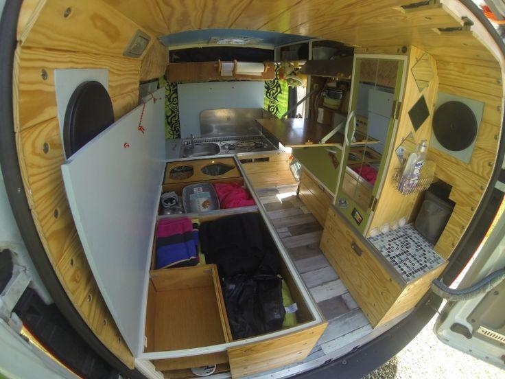 Les 20 meilleures id es de la cat gorie mini camping sur for Interieur kangoo