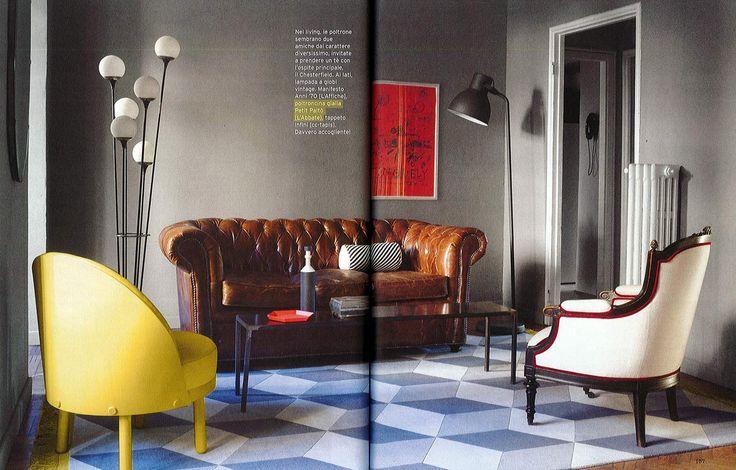 L'Abbate Italia: CASA facile 05.2017.  Paltò armchair > design Le Tiroir.