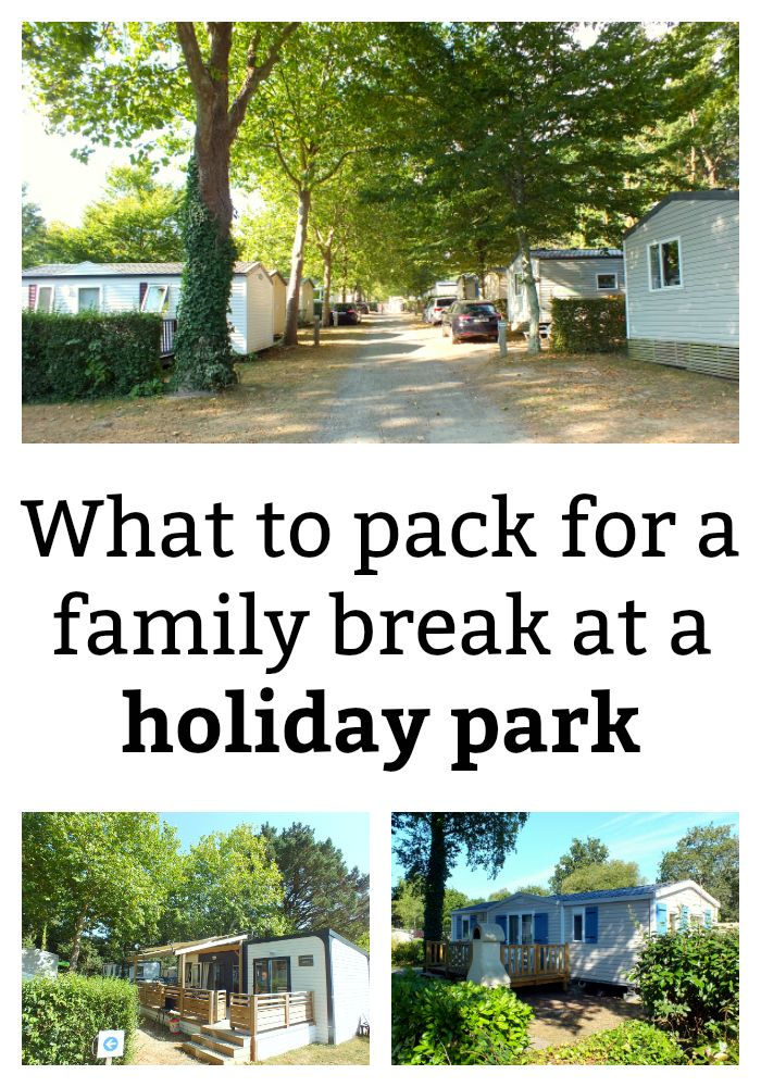 I've put together a list of what it might be useful to take on a family trip to a holiday park. Please feel free to use it as a checklist for your own travels!