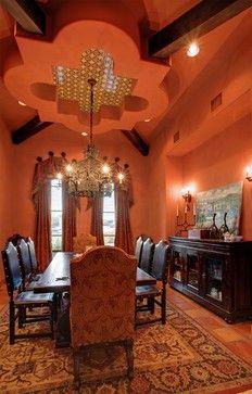 Cimarron Hacienda Mediterranean Dining Room