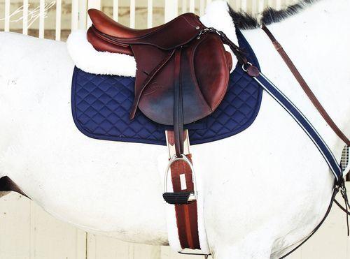 English saddle love.