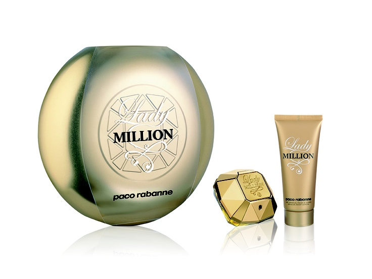 WHO DOES NOT WANT TO FEEL AND SMELL LIKE A MILLION! Paco Rabane: Lady Million 50ml Eau de Parfum Gift Set