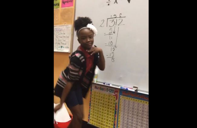 Divide, Multiply, Subtract, Bring Down- Song - One North Florida teacher's long division song has her students and the Internet dancing – and learning.