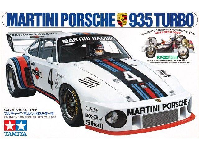 Boxart Porsche 935 Turbo 24001 Tamiya