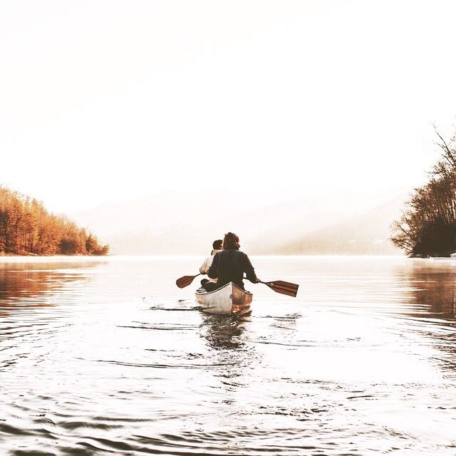 Let's escape on the water and float away forever…mmmm