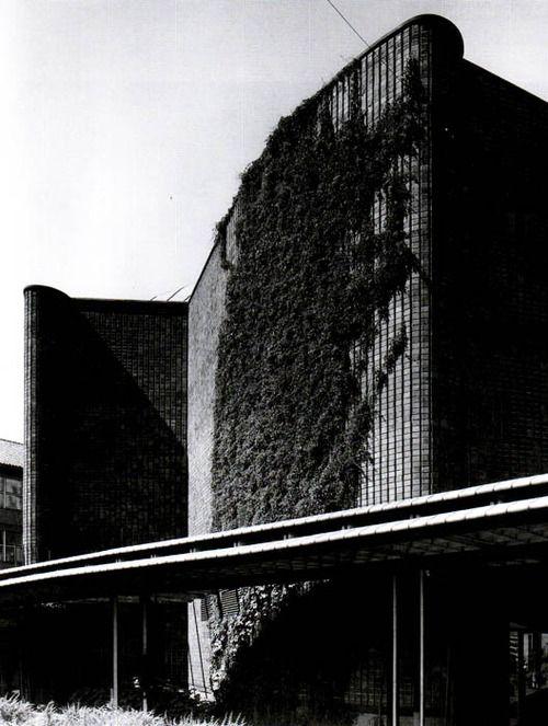 Alvar Aalto. Cultural Centre in Helsinki, 1955-1958