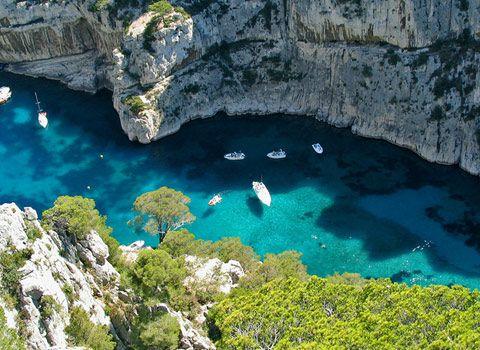 Blue Sea in the La Ciotat Calanques, Provence