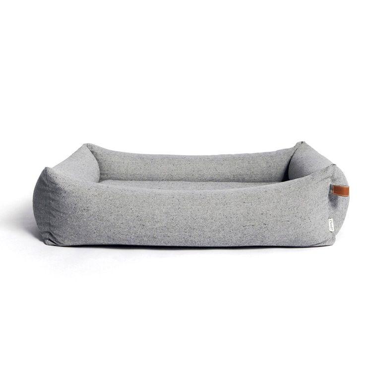 Cloud 7 Sleepy Deluxe Bed Tweed Grey - in my dreams way too expensive but i love the aesthetic.