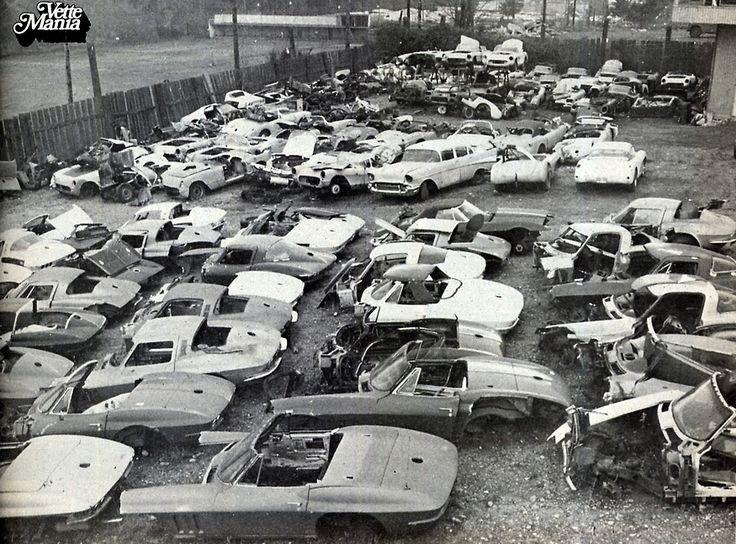 Old Corvette Salvage Yards - 0425