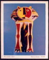 Kočka, dar pro Hemingweye, , 20.léta, Pablo Picasso