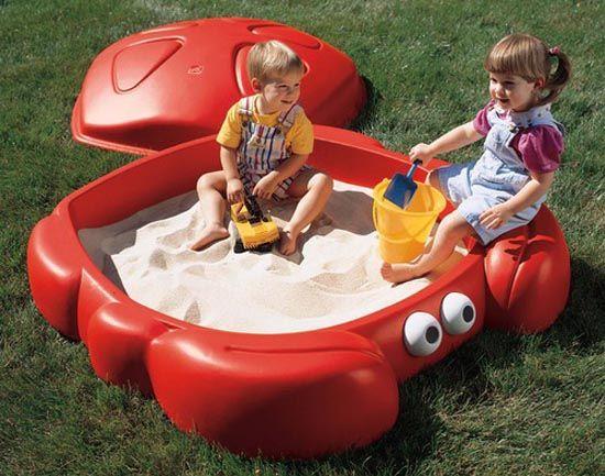 Crab Sandbox Outdoor Children Games