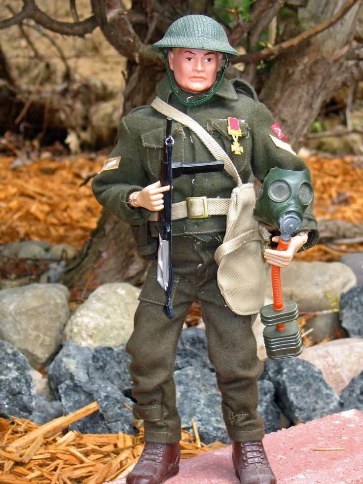 Vintage GI Joe Soldier of the World, British Commando Set, # 8104
