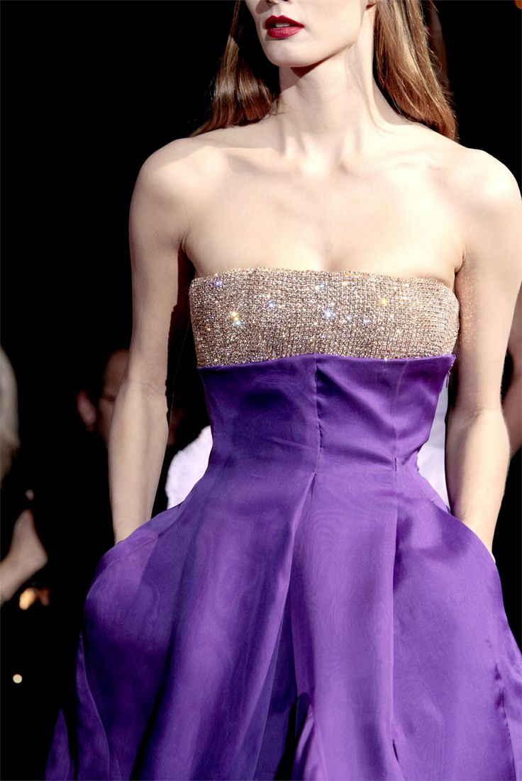 GivenchyCouture Details, Fashion, 2010 Couture, Colors, Dresses, Purple Givenchy, Givenchy Spring, Haute Couture, Spring 2010