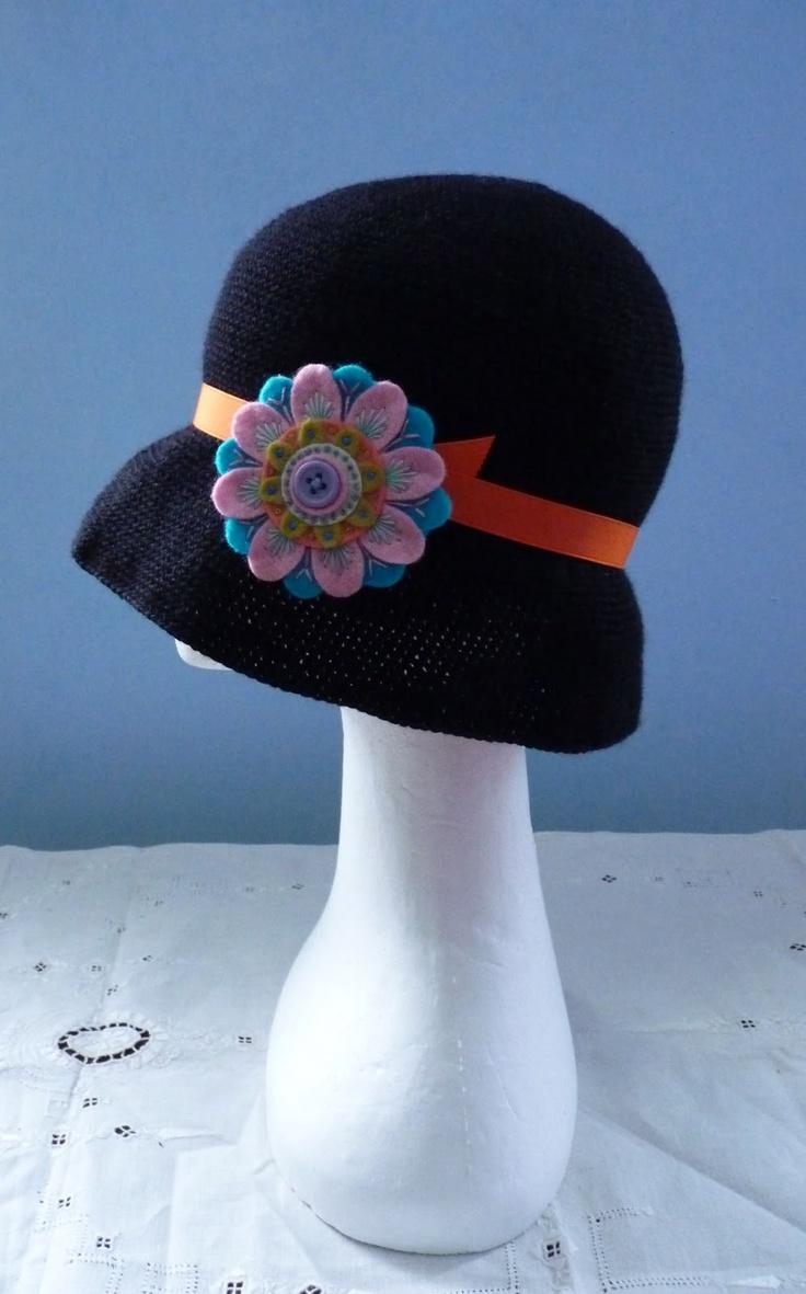 Mejores 34 imágenes de Gorros y sombreros en Pinterest | Gorros ...