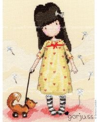 Craft :: Cross Stitch Kits - SANTORO's Gorjuss
