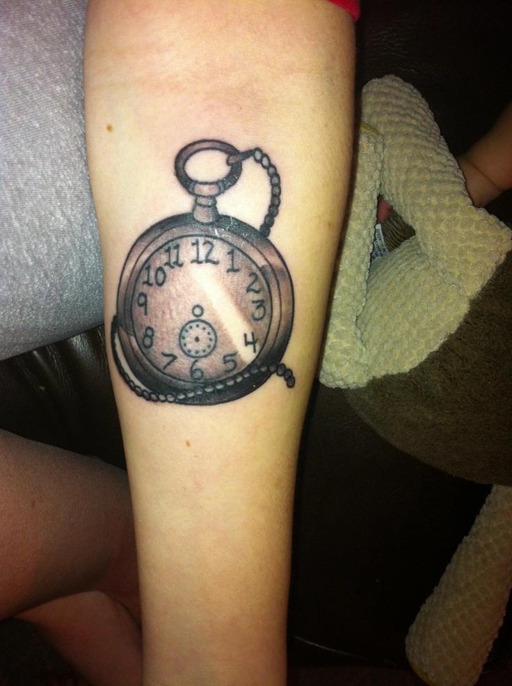 Pocket watch tattoo studio 42 bartlett tn skin art for Studio 42 tattoo