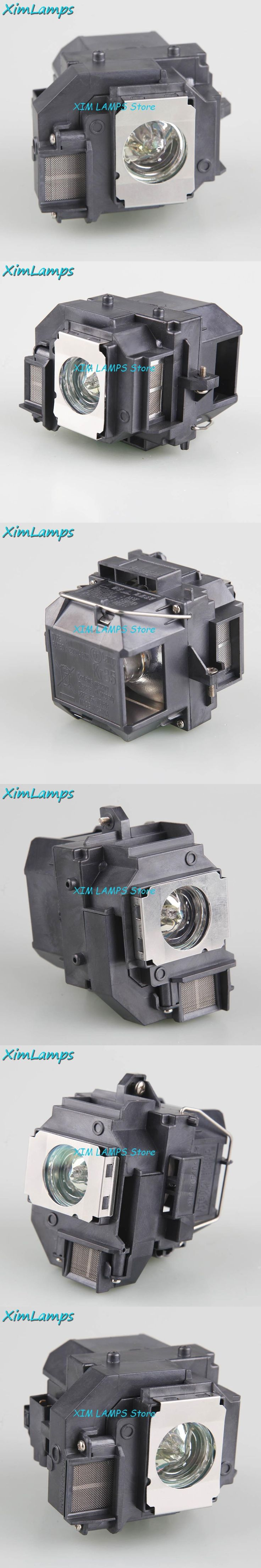 Replacement Cheap TV Projector Lamp with Housing ELPLP56 / V13H010L56 for EPSON EH-DM3 / MovieMate 60 / MovieMate 62
