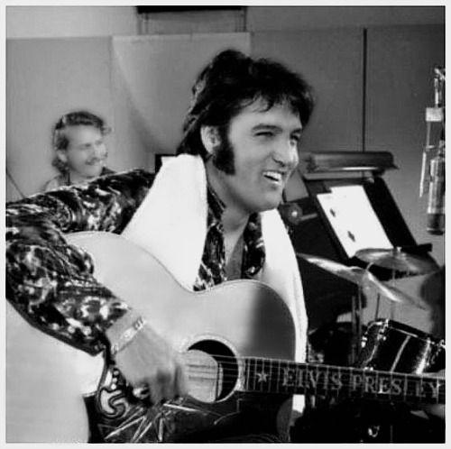 Elvis - TTWII Rehearsals - MGM Studios, 1970.