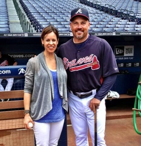 Jenna Wolfe And Fredi Gonzalez Mlb Fans Pinterest Mlb And Fan
