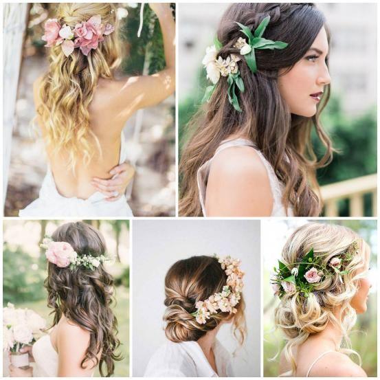 <p>Voor een buitenbruiloft of een romantische trouw zijn bloemen perfect! Flowerpower komt in verschillende varianten: van bloemenkroontjes tot een bloemstuk in je haar.</p><p><span class='st'>© Pinterest</span></p>