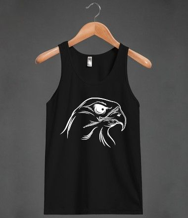 eagle head Unisex Tank / BlackTop