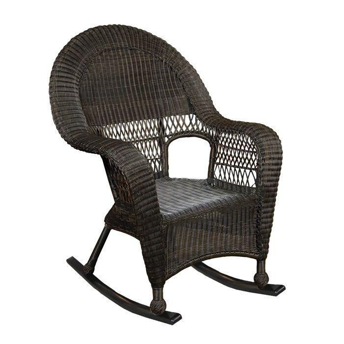 wicker rocking chair wicker chairs rocking chair rocker chairs port ...