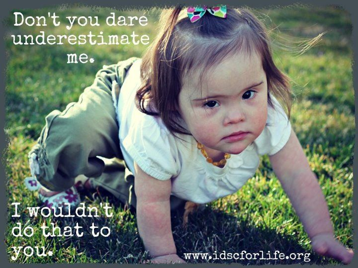 Kids with Downs Syndrome have a lot to teach us about life, love, joy, and acceptance.
