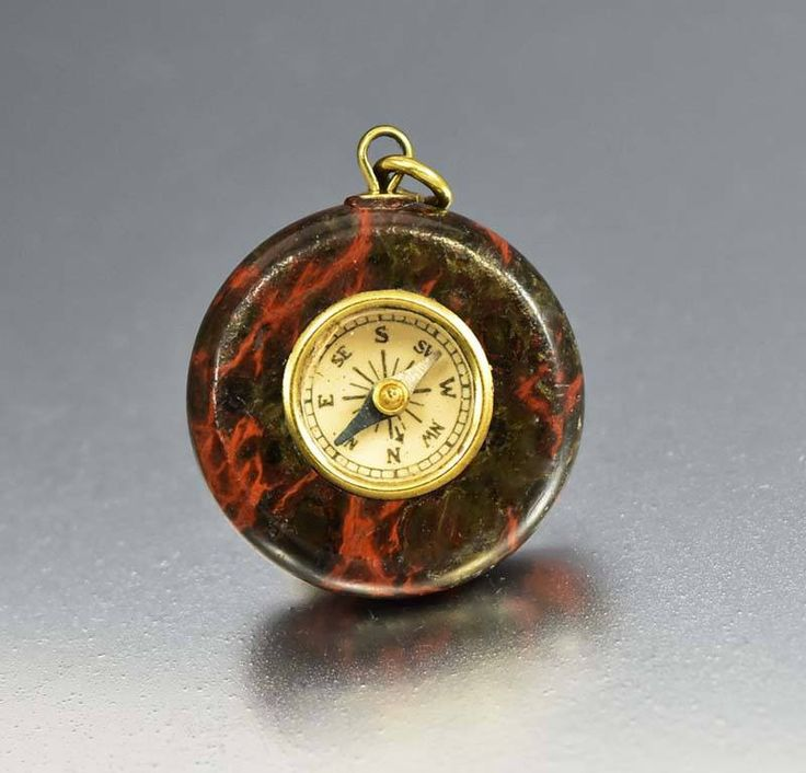 Dragon Blood Agate Antique Watch Fob Compass  #Dragon #Antique #Watch #Agate #Victorian #Panther #Eternity #Coral #Etruscan #Aquamarine